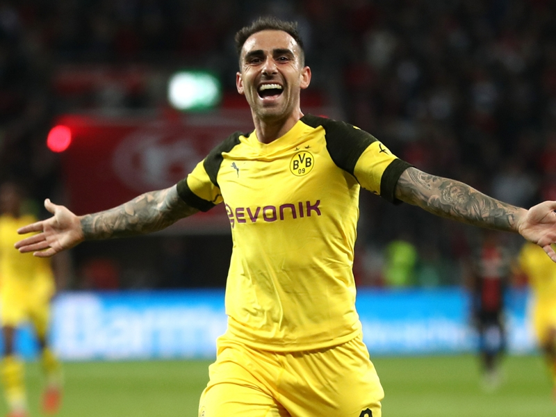 'I'm finally feeling important again' - Alcacer happy at Dortmund after Barca struggles