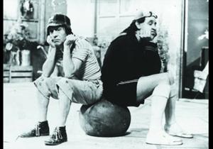 El Chavo y Quico en una imagen en 'La Vecindad'