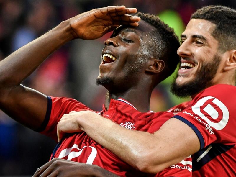 Video: Nicolas Pépé opens the score for Lille