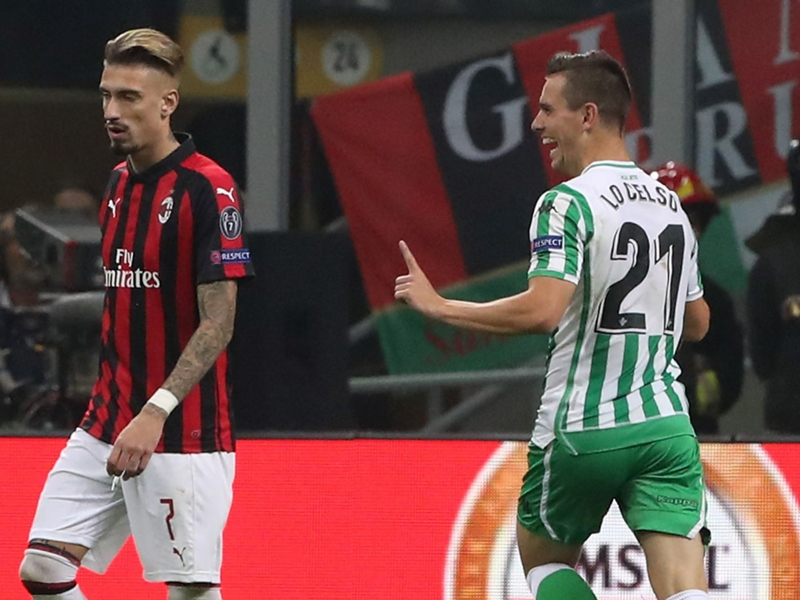 Betis Séville, Lo Celso :