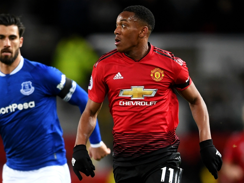 Deschamps hopes Martial can maintain Man United form