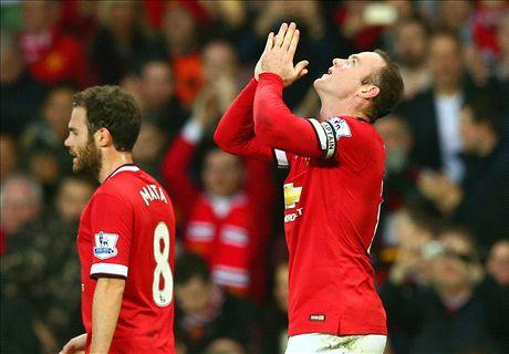 Rooney thanks Van Gaal for Xmas break
