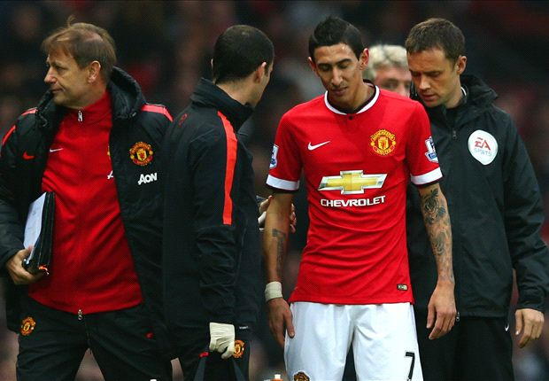 Di Maria to miss Liverpool clash with hamstring injury