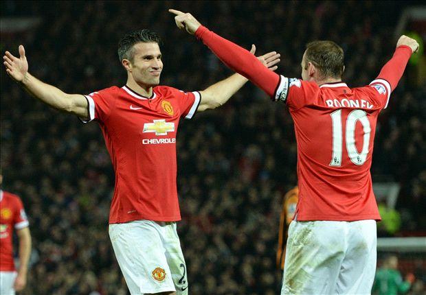 Persie Rooney Persie Rooney And Falcao