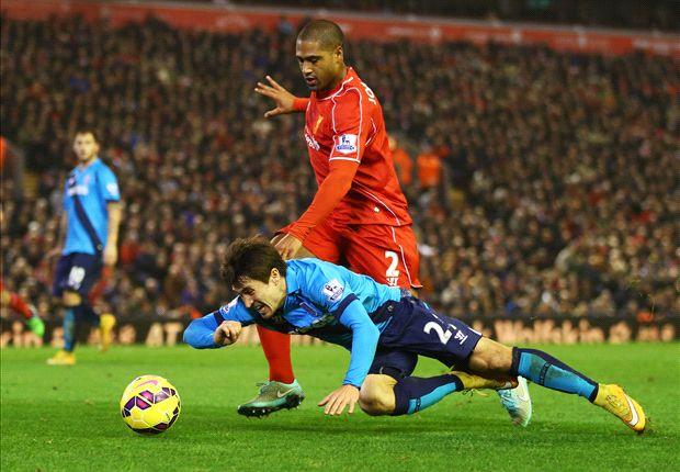 Liverpool 1-0 Stoke City: Glen Johnson se juega el tipo para salvar a los 'Reds'