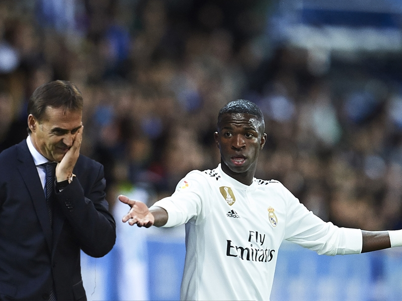 REVEALED: How Vinicius Jr played a key role in Lopetegui's Real Madrid downfall