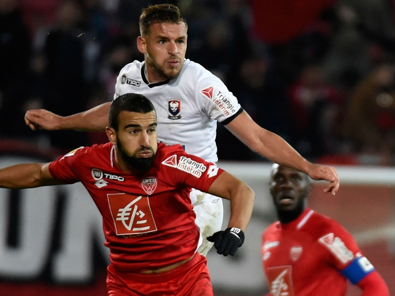 Naim Sliti's hat-trick fires Dijon into French Cup round of 16