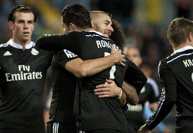 Malaga 1-2 Real Madrid : le Real a eu chaud