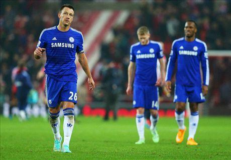Chelsea empató ante Sunderland