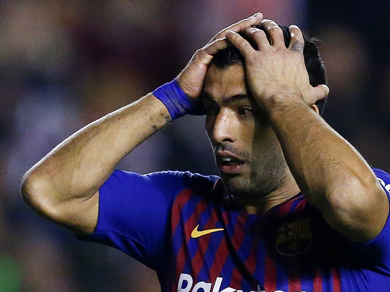 Luis Suarez bemoans over-confidence & says Barcelona boss right to be angry