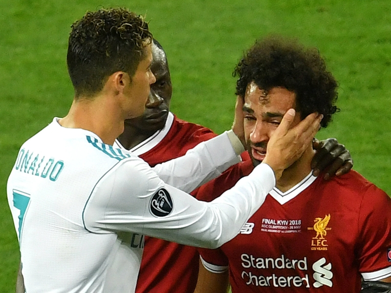 Salah matches Ronaldo after bizarre statue of Liverpool star unveiled in Egypt
