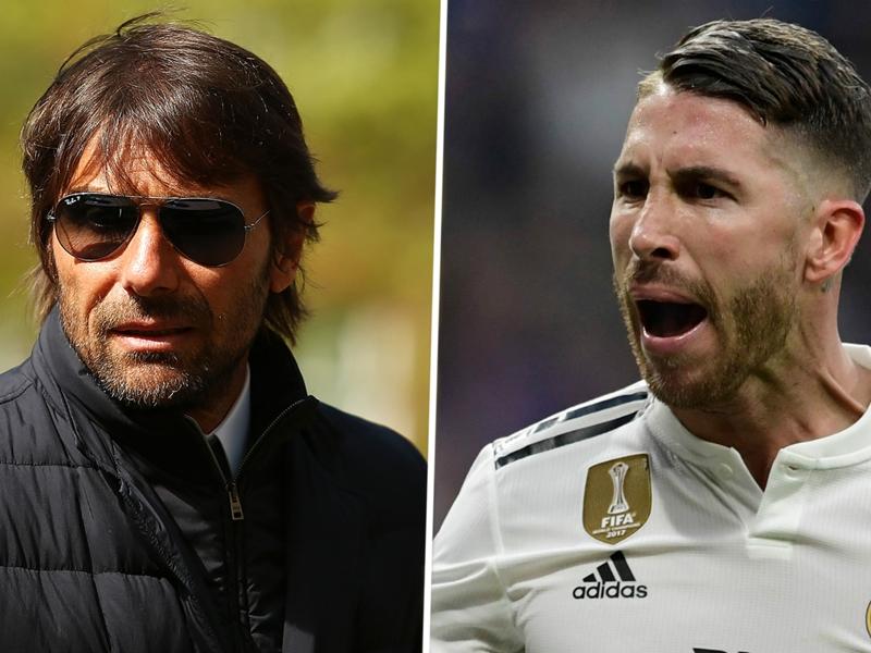 Conte responds to Ramos: A coach expects respect