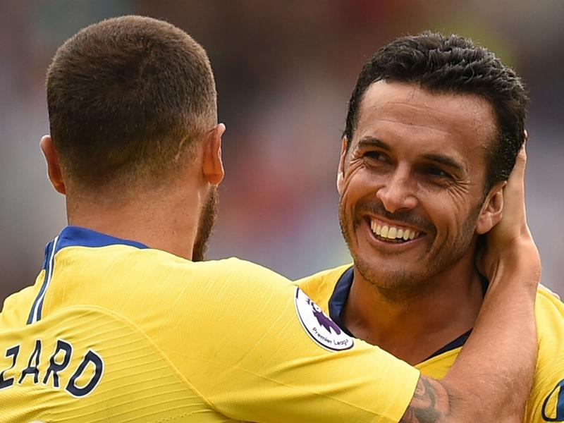 Pedro: Hazard is Chelsea's star but Morata is very good