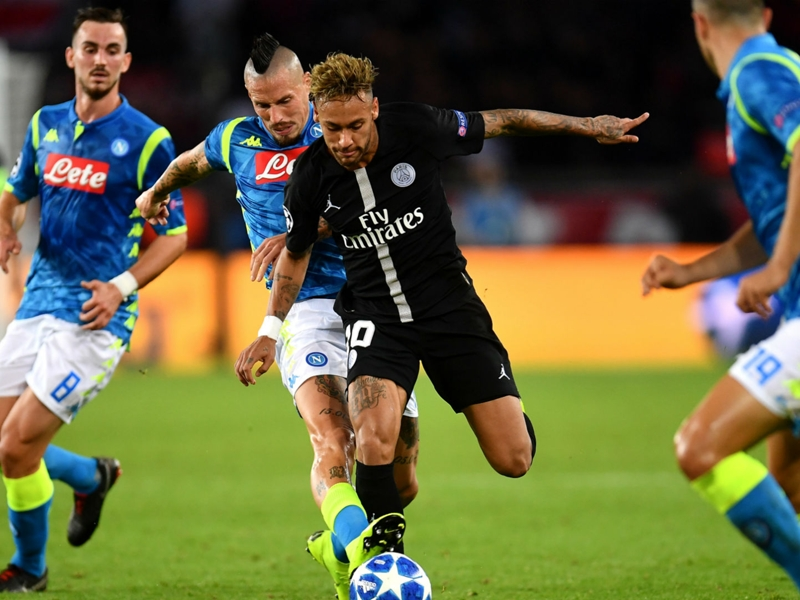 'Napoli clash a final for PSG' - Neymar talks up the importance of Champions League encounter