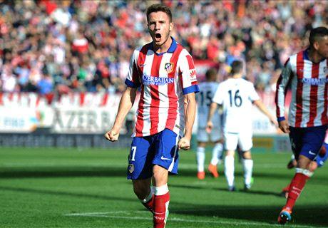 Résumé de match, Service minimum pour l'Atlético