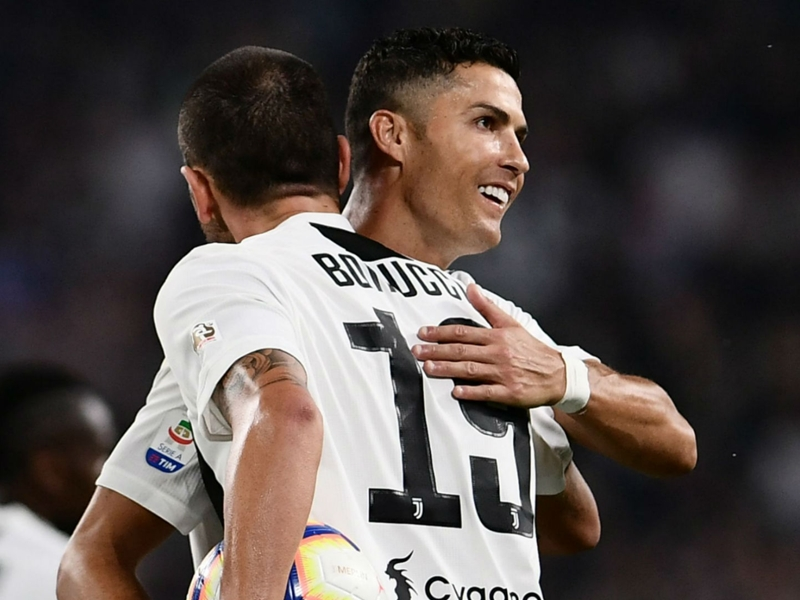'Varane is great but Ballon d'Or is Ronaldo's' - Bonucci backing Juventus team-mate for sixth triumph