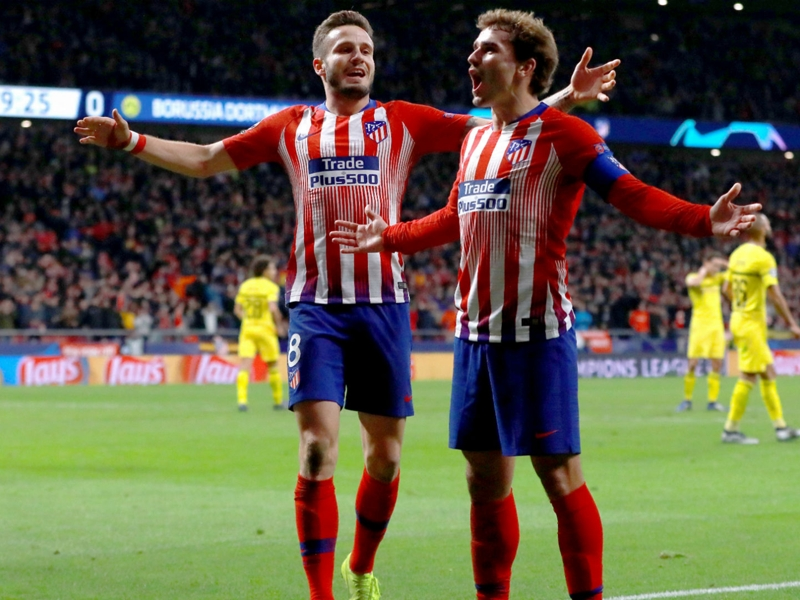 Griezmann: I am so pleased to play at Atletico Madrid