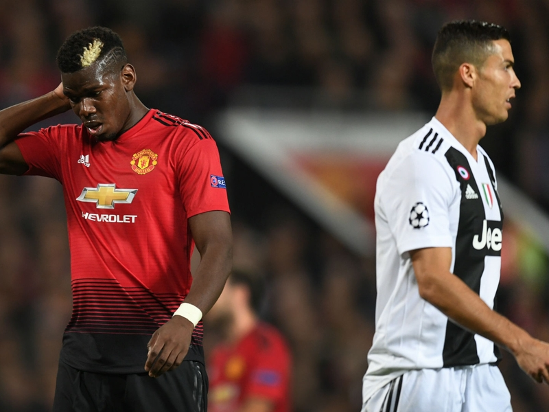 'Ronaldo scores as easily as he drinks water' - Pogba
