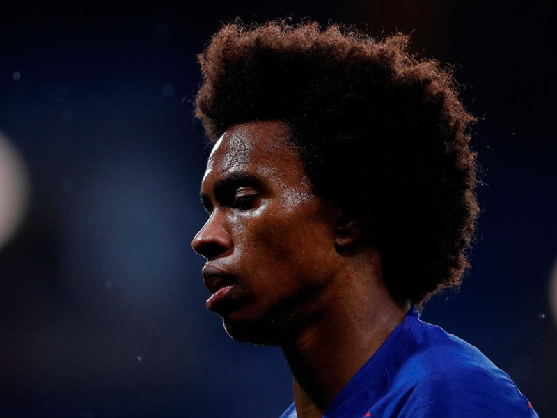 Willian's love-hate relationship with Chelsea and the club's fans