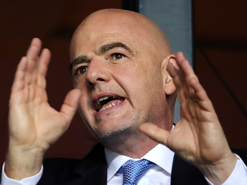 Video: 48 team World Cup is feasible in 2022 - Infantino