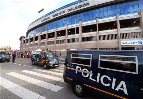 Spanish figures condemn violence