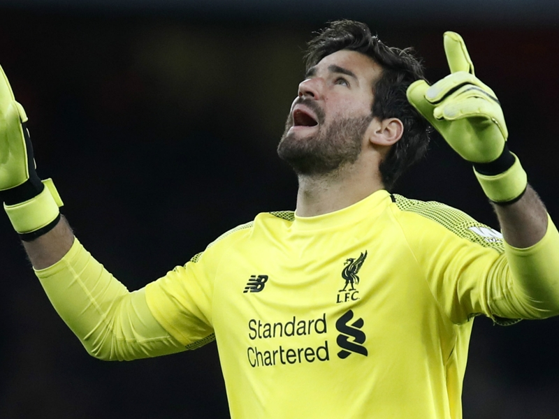 Alisson: £65m price tag means I must be perfect for Liverpool