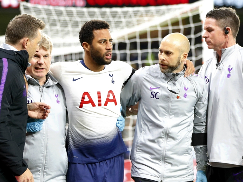 Ankle damage rules Dembele out of Tottenham's plans until 2019