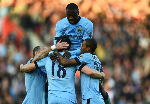 El Manchester City se encarama en la Premier