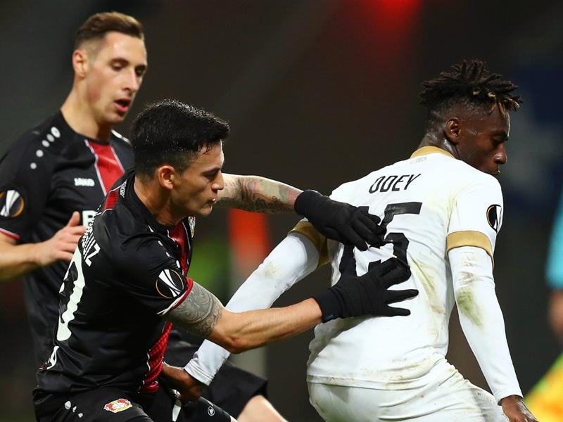 Stephen Odey fires blank as FC Zürich fall to Bayer Leverkusen