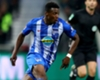 Javairo Dilrosun in action for Hertha Berlin