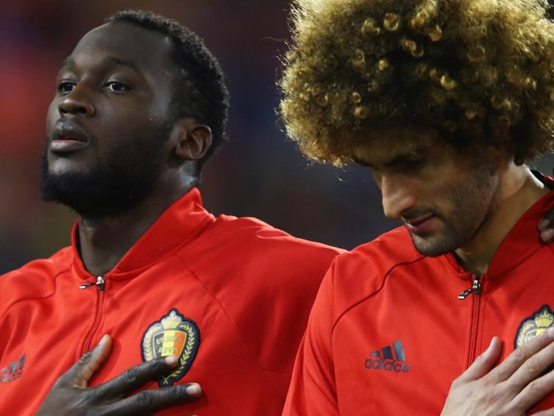 Lukaku makes Belgium squad amid fitness issues but Man Utd team-mate Fellaini left out