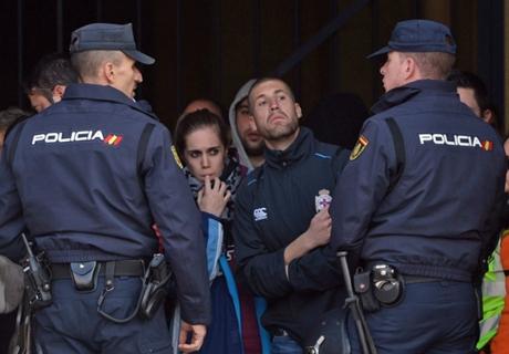 Ultras in Spanien im Gefängnis