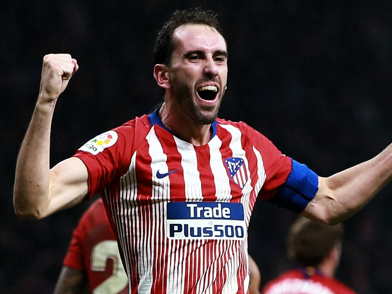 Gimenez hopes 'partner' Godin stays on with Atletico Madrid amid Inter links