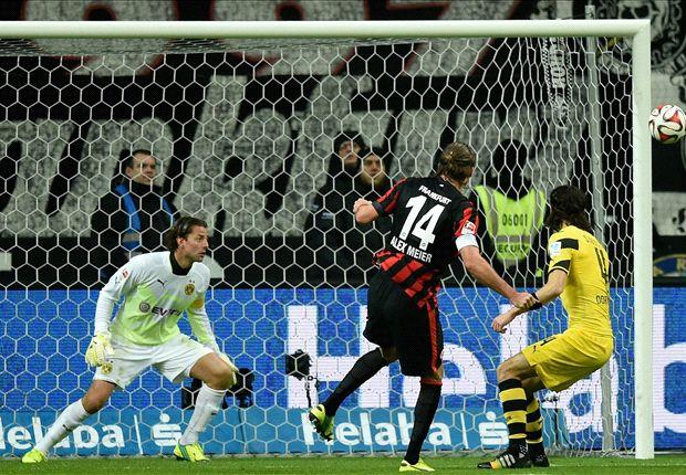 Eintracht Frankfurt 2-0 Borussia Dortmund: Broken BVB left bottom of Bundesliga