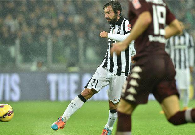 Juventus 2-1 Torino : Pirlo offre le derby à la Juve