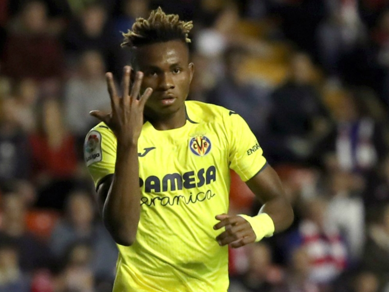 Meet Samuel Chukwueze: Villarreal's Nigerian rising star compared to Arjen Robben