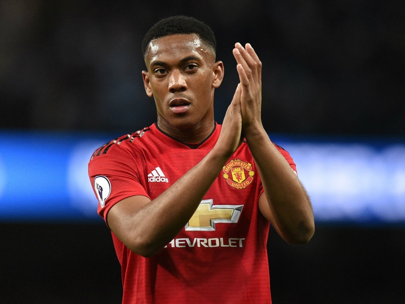 Boost for Man Utd as Martial back for Arsenal clash