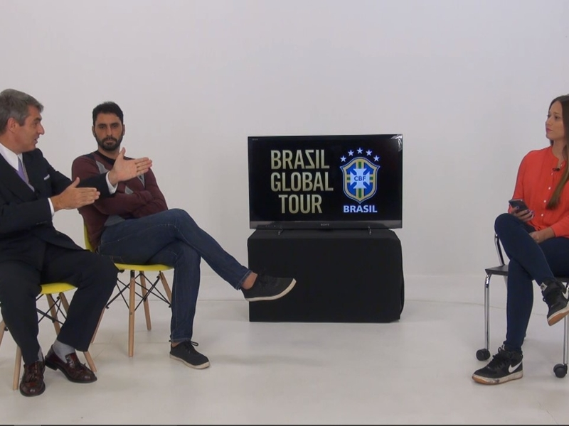 VIDEO: Legends, goals, TV personalities and behind-the-scenes with Brazil - BGT LIVE is coming soon