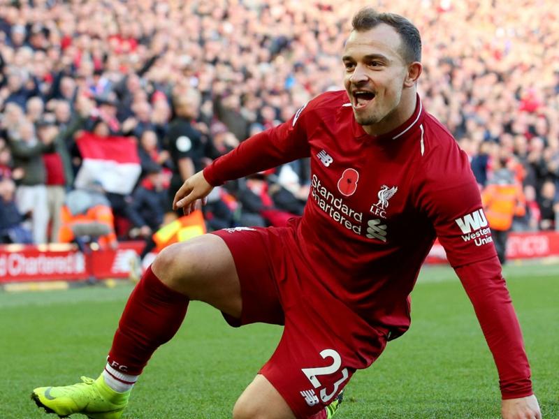 Shaqiri giving Liverpool an extra dimension - Van Dijk