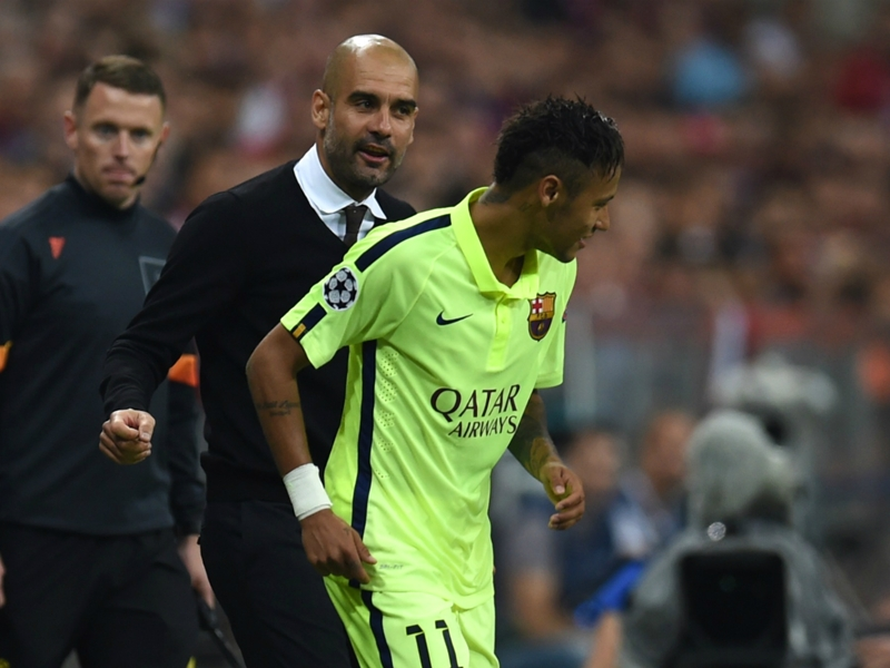 Neymar would already be world's best under Guardiola - Dani Alves