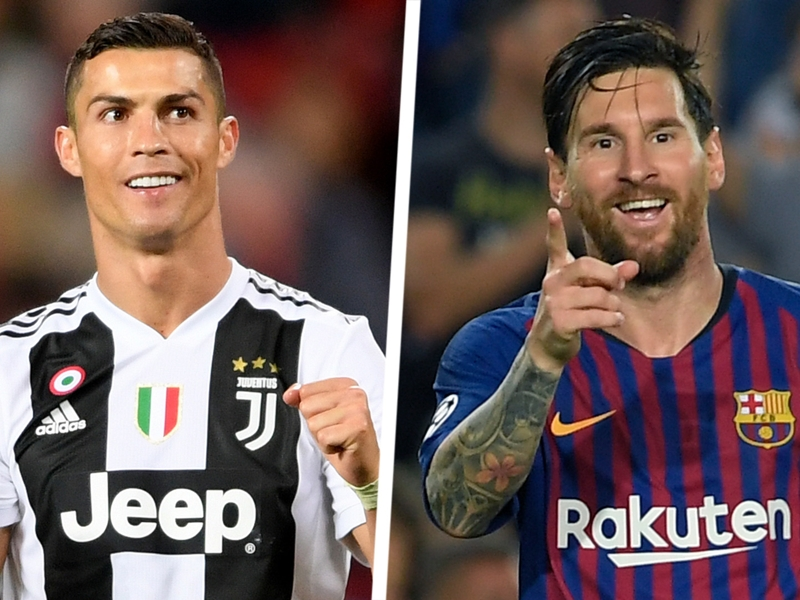 Ronaldo and Messi the winners, Manchester United the losers of the Champions League draw