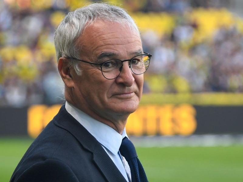 Claudio Ranieri takes over at Roma following Eusebio Di Francesco's departure