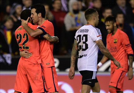 Player Ratings: Valencia 0-1 Barcelona