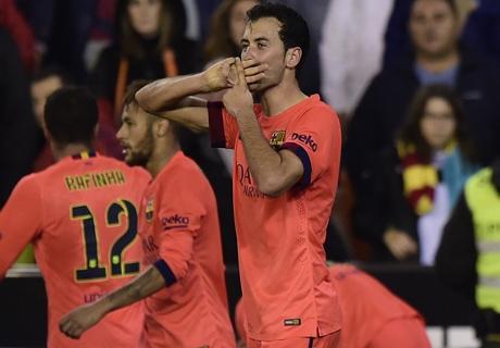 Barca were lucky - Busquets