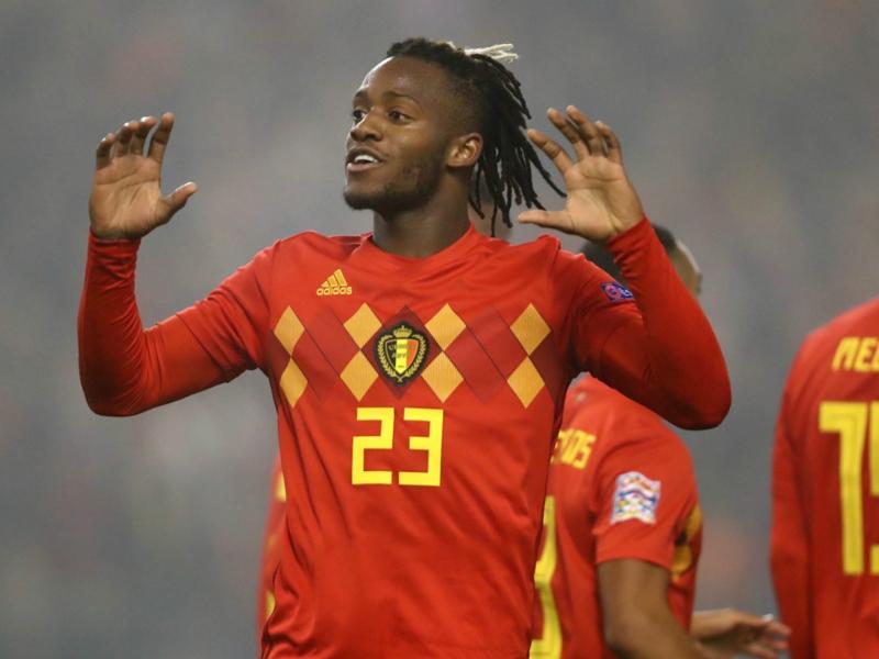 Belgium 2 Iceland 0: Batshuayi rekindles Hazard flame with match-winning brace