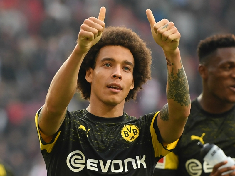 Witsel urges Dortmund to stay focused in Bundesliga title tussle with Bayern
