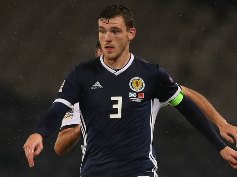 'You are the real Braveheart now!' - Klopp's brilliant response to new Scotland captain Robertson