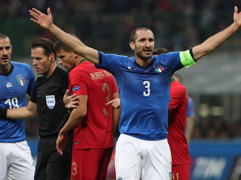 Top three players to be capped by Italy