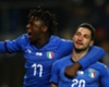 Italy celebrate Matteo Politano's late winner against United States