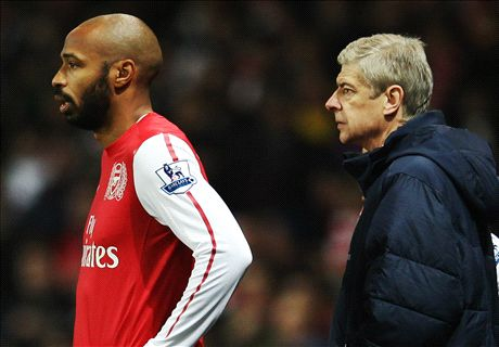 Henry: I cried when I left Arsenal